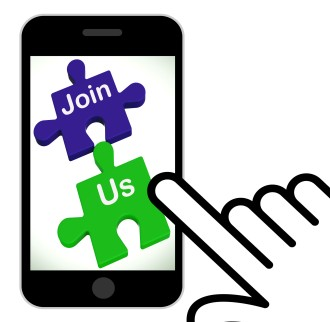 Join Us Puzzle Displaying Register Or Become A Member