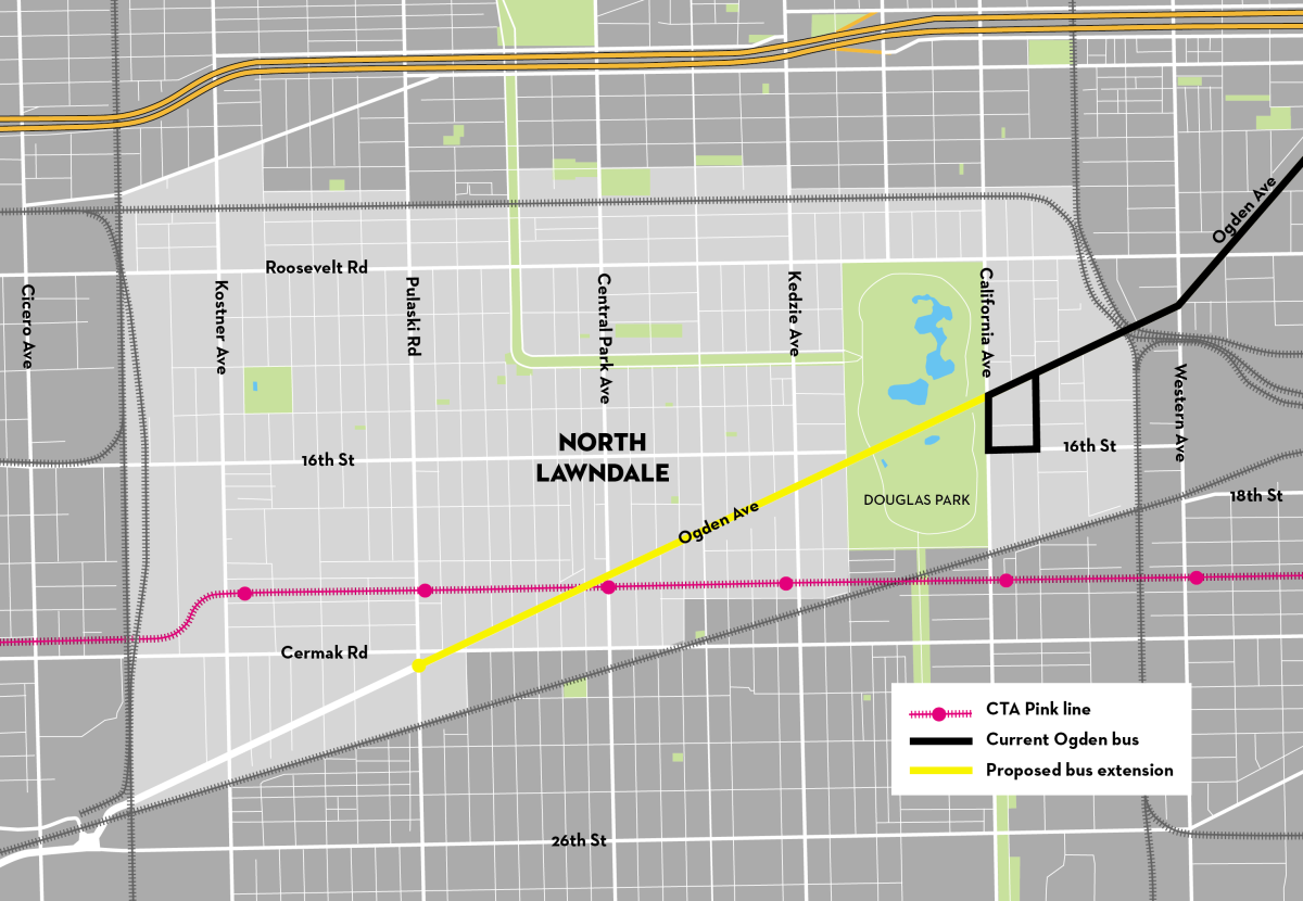 Douglas Park Chicago Map.All Things North Lawndale North Lawndale Community Coordinating